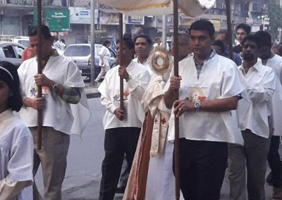 Procession Closeup-Christ The King Feast 2017